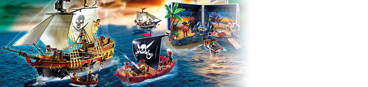 Collection Playmobil Les pirates