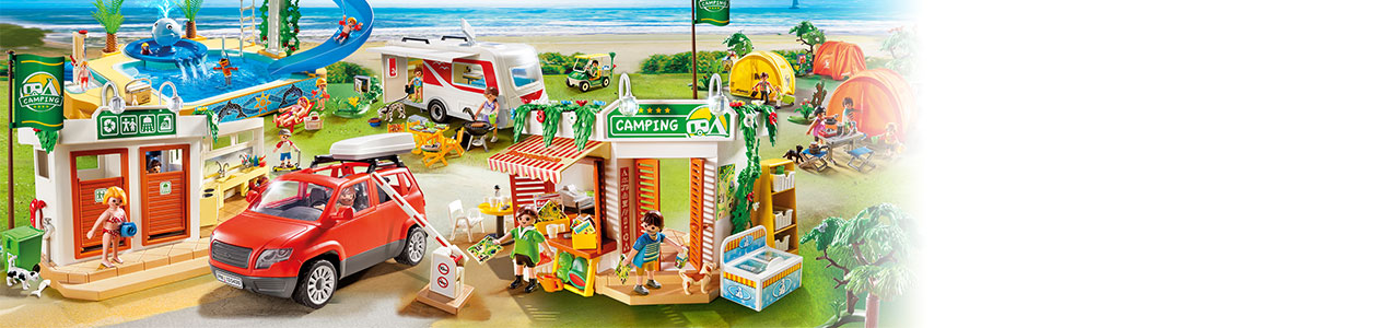 Collection Playmobil Summer fun
